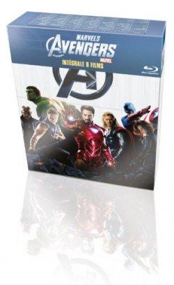 Intégrale Marvel : Coffret Blu Ray