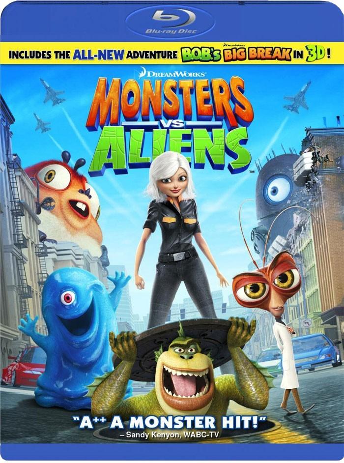 Monstres Contre Aliens En Dvd Amp Blu Ray