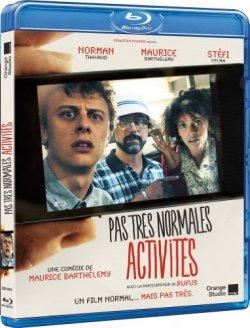 Pas très normales activités - Blu Ray