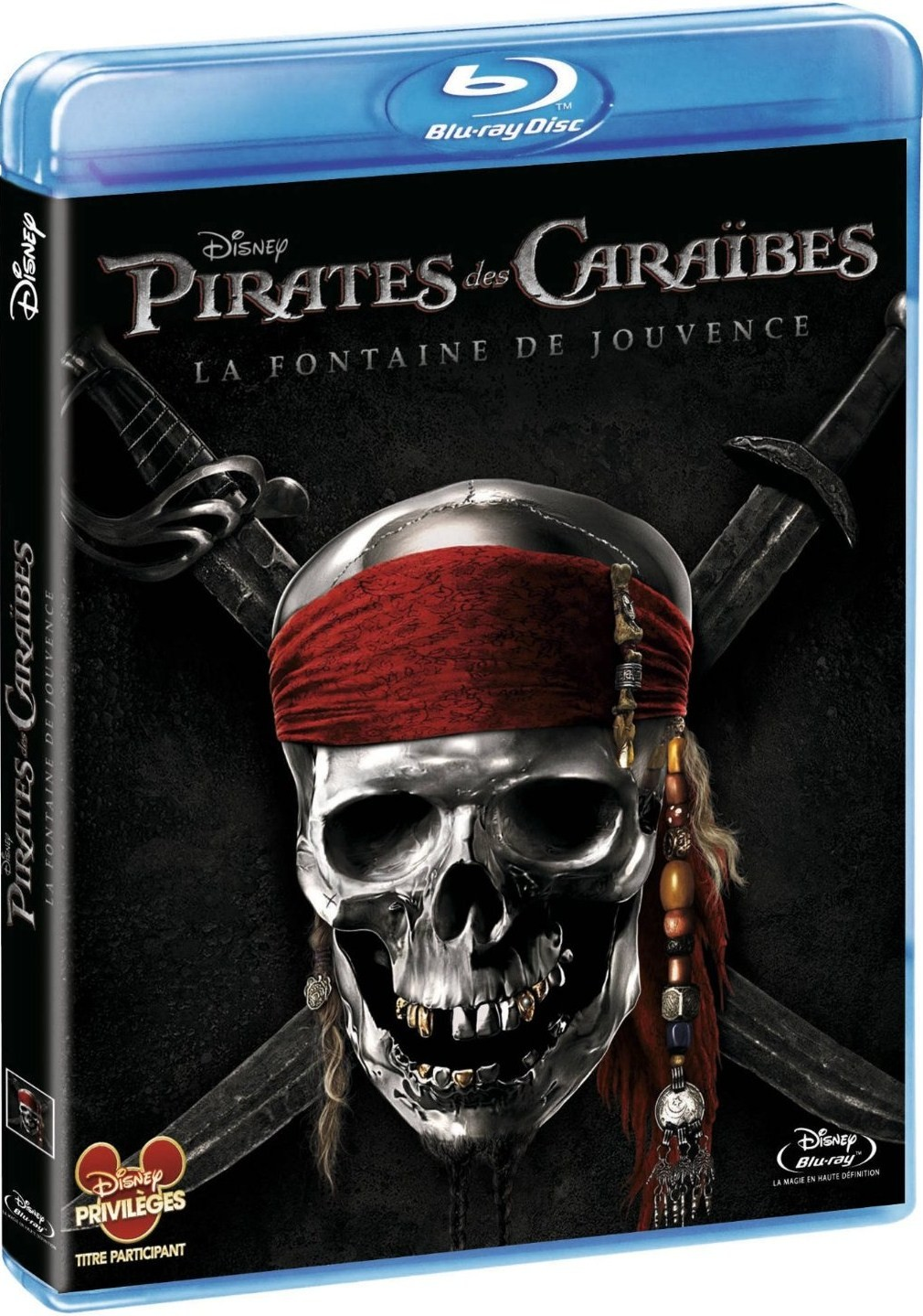 pirates des cara bes la fontaine de jouvence en dvd. Black Bedroom Furniture Sets. Home Design Ideas