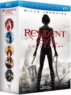 Resident Evil - Coffret 5 films Blu Ray