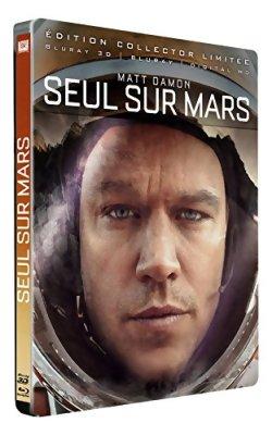 Seul sur Mars - Blu Ray 3D (Steelbook)