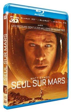Seul sur Mars - Blu Ray 3D
