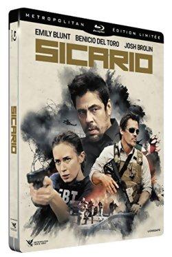 Sicario - Blu Ray [Steelbook]