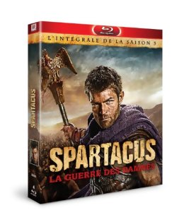 Spartacus saison 3 - Blu Ray