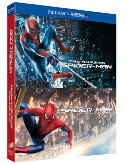 The Amazing Spider-Man 1 & 2 - Blu-Ray