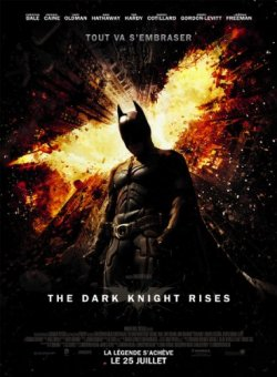 The Dark Knight Rises DVD