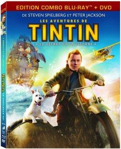 Tintin (2011) Combo Blu Ray + DVD