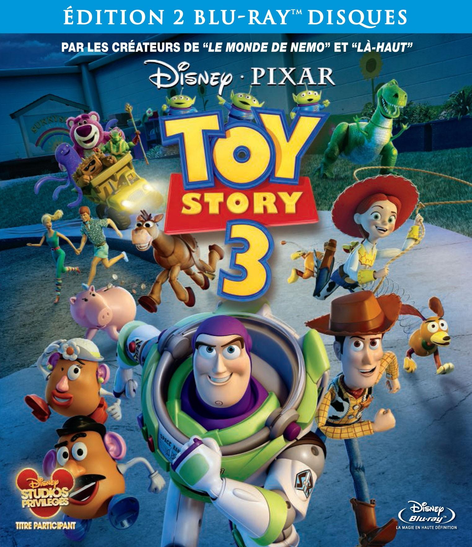 Tout sur les dvd et blu ray de toy story 3 avec buzz l - Le cochon de toy story ...