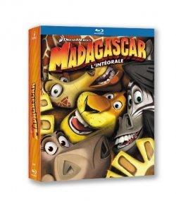 Trilogie Madagascar - Blu Ray