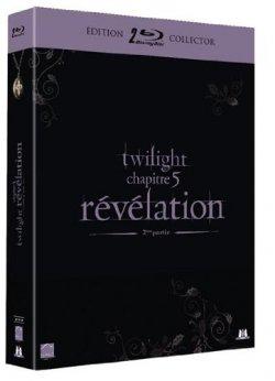 Twilight Révélation Parties 1 et 2 - Blu Ray