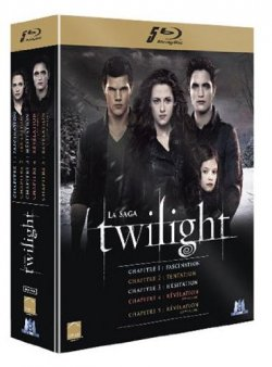 Twilight, La saga en Blu-Ray