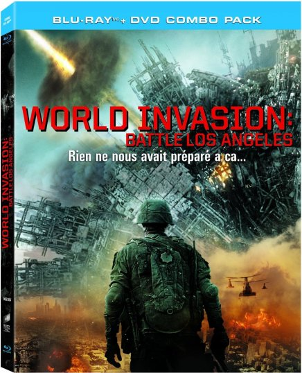 World invasion battle los angeles en Blu Ray