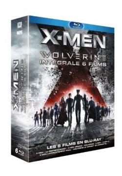 X-Men et Wolverine : Intégrale Blu Ray
