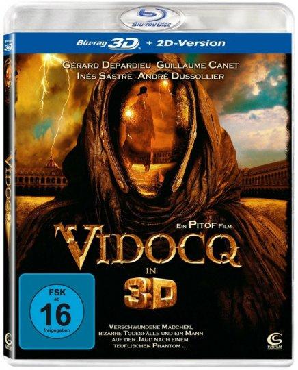 Les Blu Ray 3D allemands