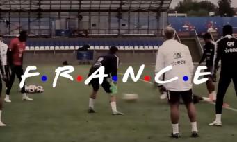 L'équipe de France dans FRIENDS : la parodie qui buzze !