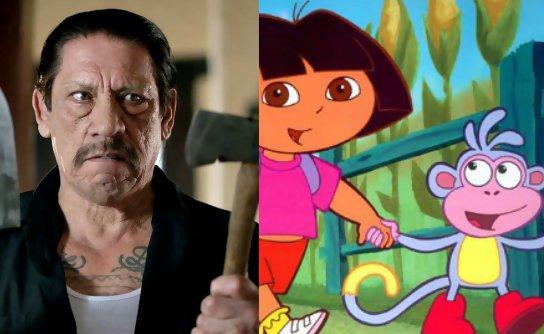 Danny trejo sera babouche dans le film dora l 39 exploratrice - Personnage dora ...