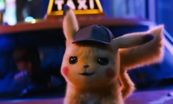 Ryan Reynolds est Pikachu dans le film DETECTIVE PIKACHU (bande-annonce)