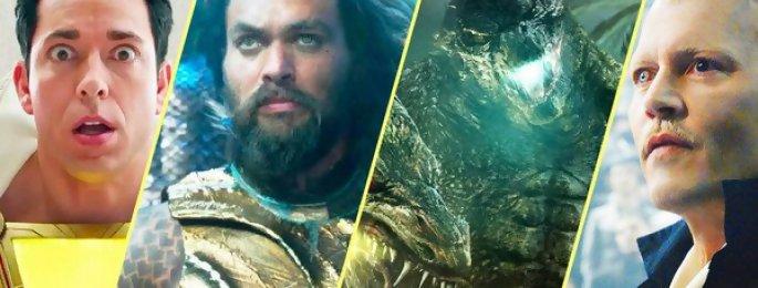Comic Con 2018 : les trailers les plus fous ! (Aquaman, Godzilla 2, Glass, Star Wars...)