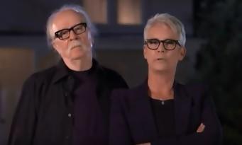 John Carpenter et Jamie Lee Curtis présentent le nouveau trailer d'HALLOWEEN