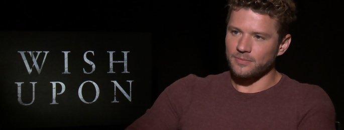 Ryan Philippe en interview pour le film d'horreur I Wish - Faites un voeu