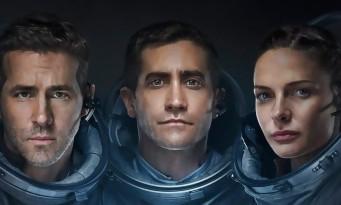 Ryan Reynolds et Jake Gyllenhaal dans l'espace face à un Alien (bande-annonce de LIFE)