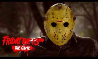 Vendredi 13 : Jason de retour avec des meurtres bien sales (trailer jeu)