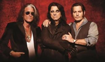 Viré de Pirates des Caraïbes, Johnny Depp sort un nouveau single avec Hollywood Vampires