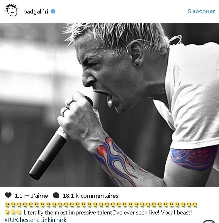 Le chanteur de Linkin Park s'est bien pendu