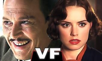 LE CRIME DE L'ORIENT-EXPRESS : Johnny Depp face à Daisy Ridley (bande annonce)