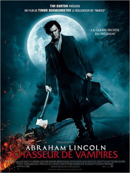 Abraham Lincoln : Chasseur de Vampires (2012) | FRENCH MP4 | TS LD
