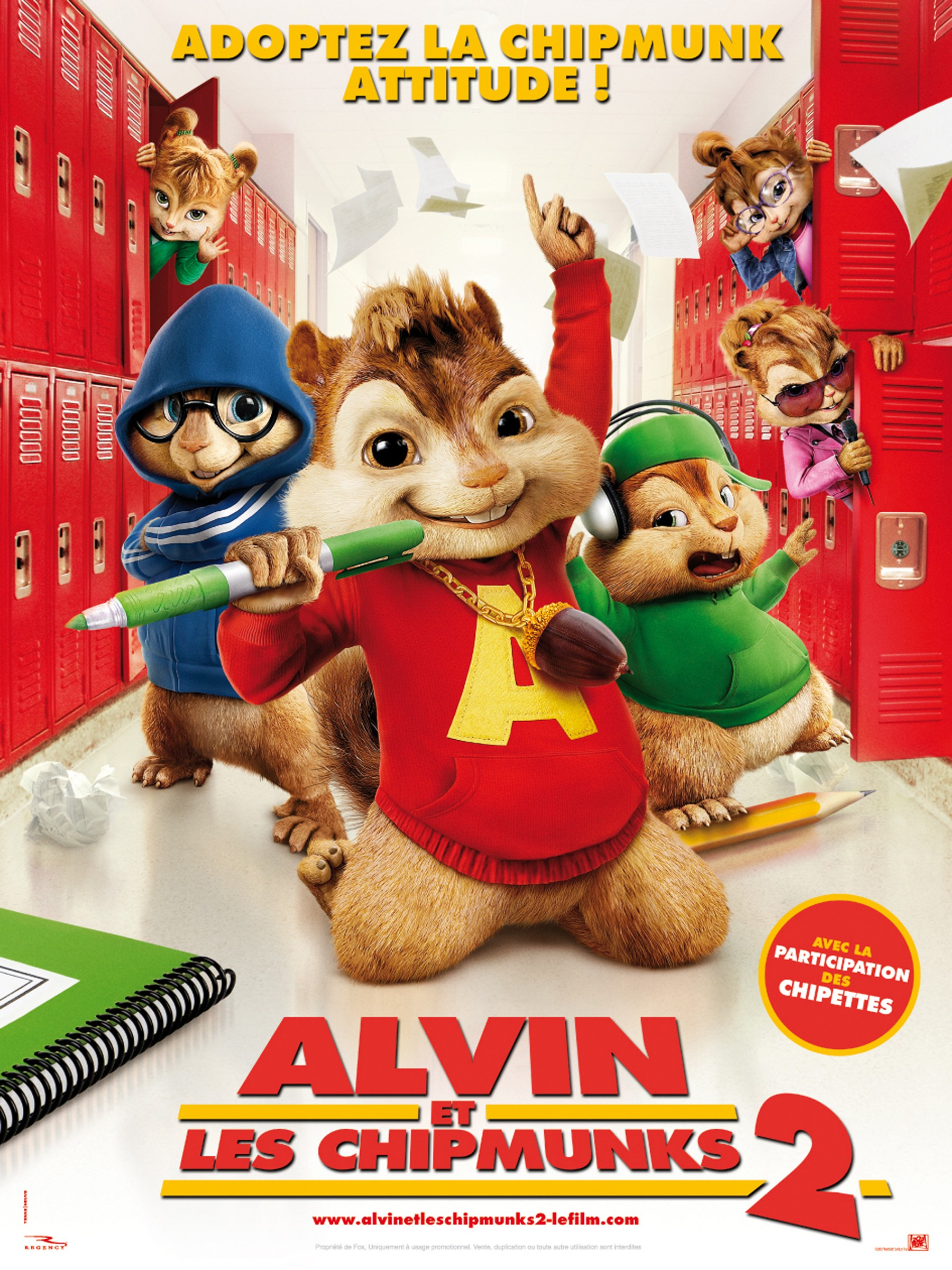 Alvin et les Chipmunks 2 | FRENCH MP4 | BDRiP | MULTI