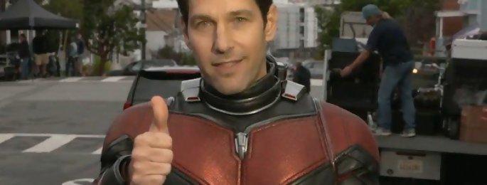 """Paul Rudd : """"Bien sûr que j'ai été vexé de ne pas être dans Infinity War"""" Ant-Man 2 interview"""