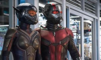 ANT-MAN 2 : un extrait fun et spectaculaire et les premières critiques US !