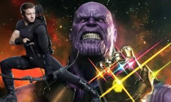 """Avengers Infinity War : """"Hawkeye est le seul qui peut nous sauver de Thanos"""" Robert Downey Jr"""