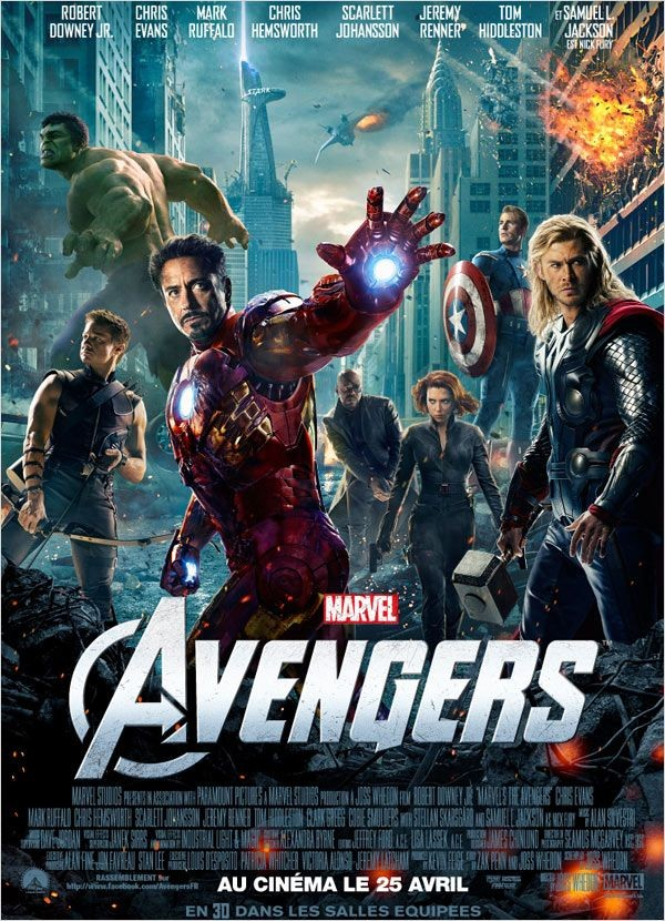 The Avengers 2012 [VOSTFR] [BLURAY 1080p]