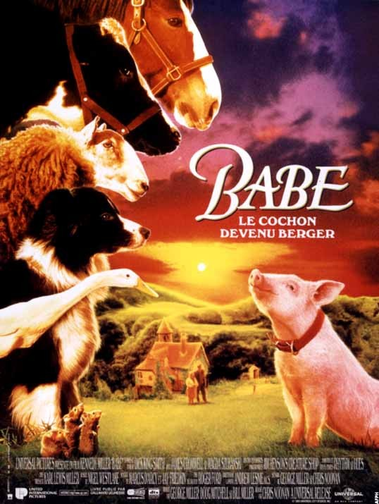 Babe, le cochon devenu berger  [BRRIP] [FRENCH] [TB]