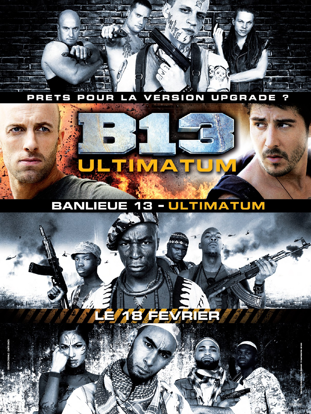 Banlieue 13 ultimatum for Le nombre 13 film