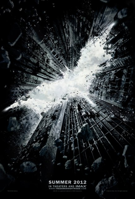 Batman The Dark Knight Rises l'affiche du film