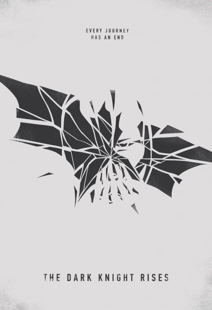 Batman The Dark Knight Rises : affiche