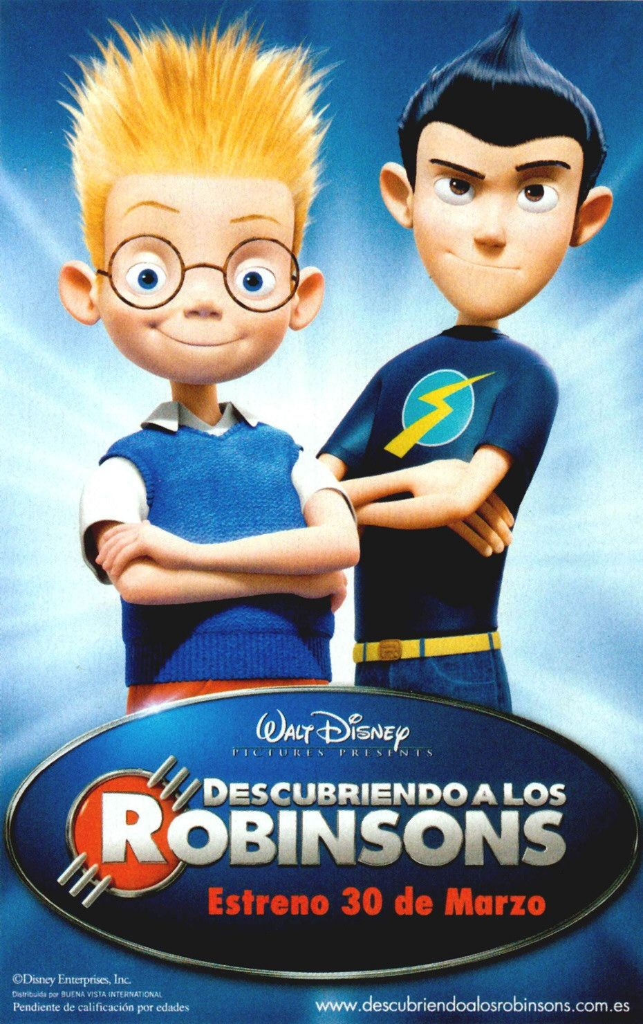 meet the robinsons 27 x 40 poster