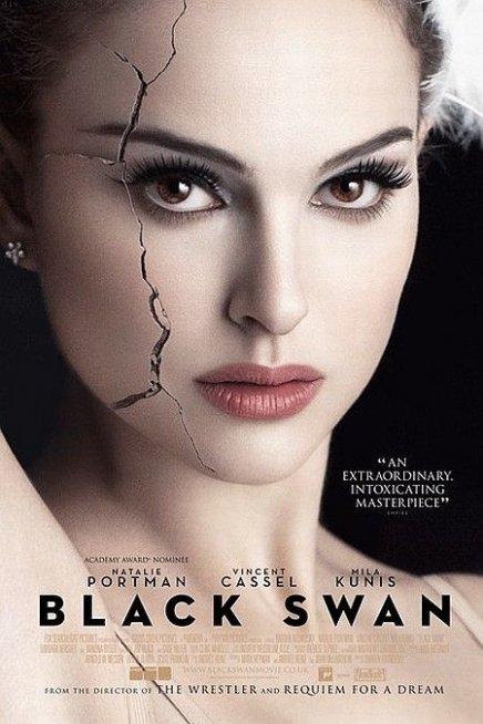 Une magnifique affiche pour Black Swan avec Natalie Portman