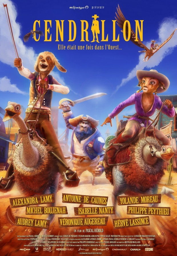 Cendrillon au Far West (2012) [FRENCH] [DVDRiP]