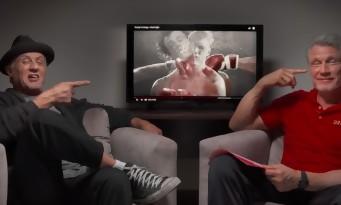 Sylvester Stallone et Dolph Lundgren se clashent en rematant leur combat de Rocky IV