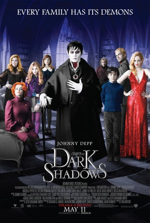 Dark Shadows (2012) (1CD) [FRENCH] [BDRip]