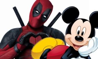 Deadpool troll le rachat de la Fox par Disney !
