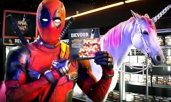 DEADPOOL 2 dans une pub TV avec une licorne et Sausage Party (nouvelle vidéo)