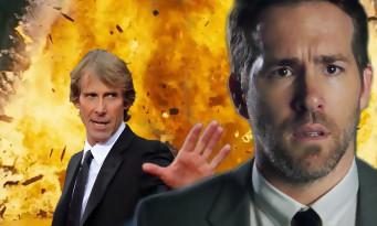 Micheal Bay va faire péter Netflix avec Ryan Reynolds et les scénaristes de Deadpool