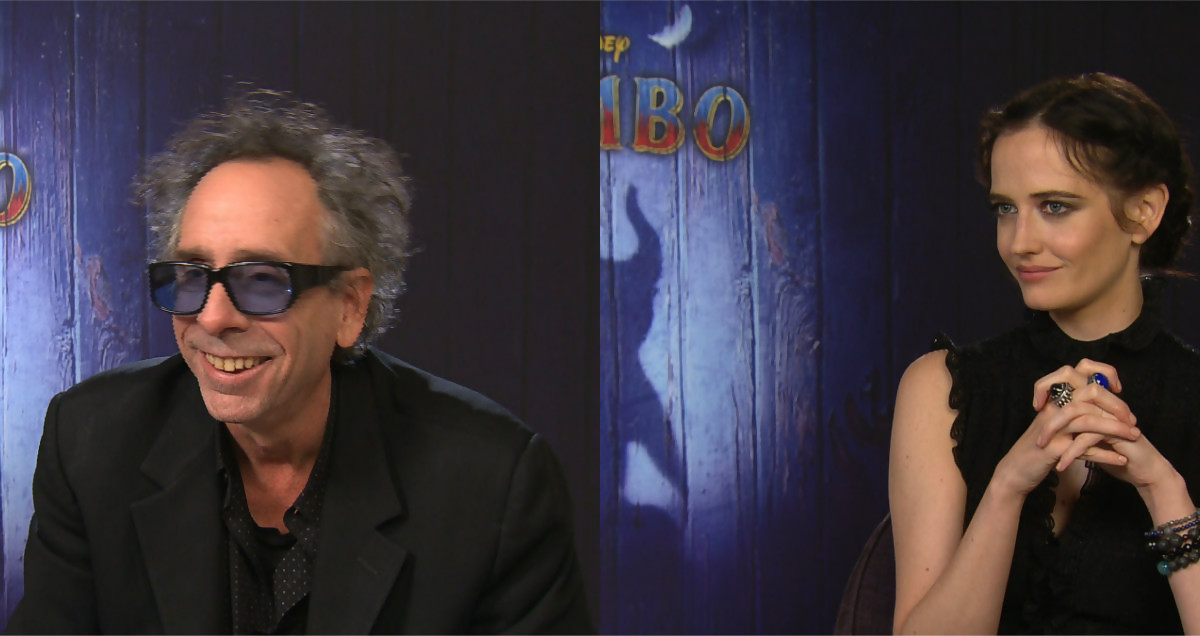 dumbo   on a rencontr u00e9 tim burton et eva green  u0026quot pas question de faire un remake u0026quot