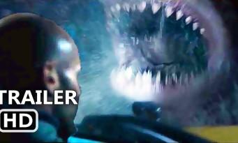 MEG - EN EAUX TROUBLES : Jason Statham face à un requin préhistorique ! (trailer